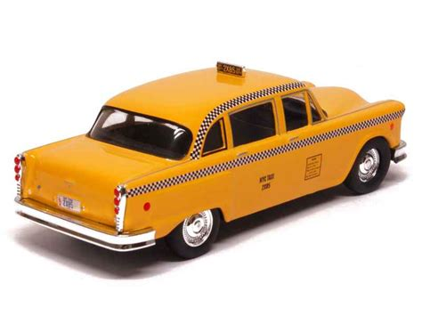 Taxi Friend by Checker A11 Cab Taxi Friends 1977 Greenlight 1 43