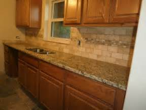 Granite Kitchen Backsplash Ideas For Kitchen Tile Backsplash With St Cecilia Granite