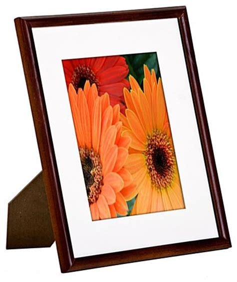 10 X 10 Wood Picture Frame W Mat by 8 Quot X 10 Quot Wood Photo Frame Removable Mat Board