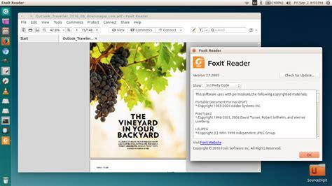 tutorial terminal ubuntu pdf how to install foxit reader in ubuntu using terminal