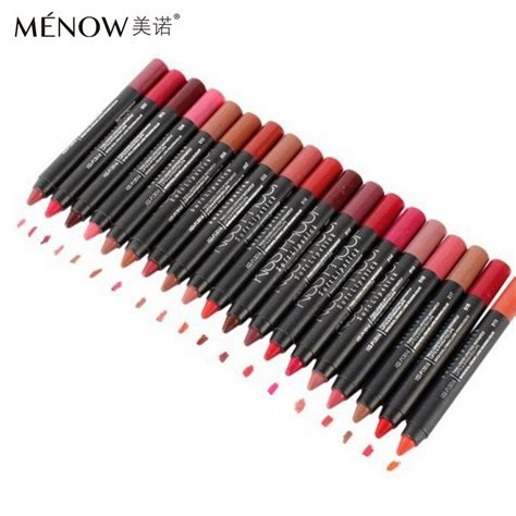 Proof Lipstik Matte No 10 19 colors available menow kissproof batom matte lipstick