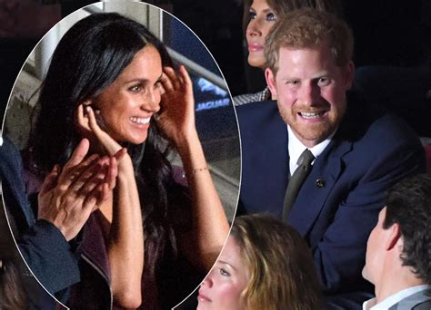 meghan markle and prince harry s first tv interview in meghan markle makes first public appearance with prince harry