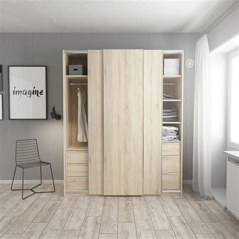 flexi storage white  door frame sliding wardrobe