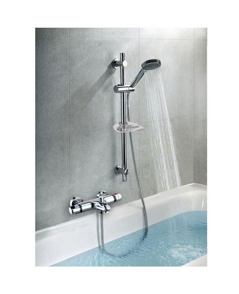 wall mounted bath shower mixer richmond wall mounted thermostatic bath shower mixer tap