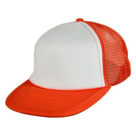 kc caps foam and mesh trucker snapback baseball cap blank