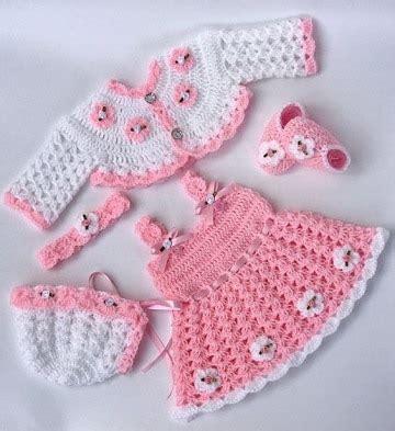 conjuntos tejidos para bebes recin nacidos newhairstylesformen2014 vestidos tejidos a crochet para nias recien nacidas imagui