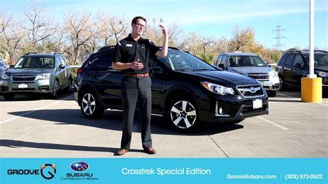 Subaru Specials by 2017 Special Edition Crosstrek Motavera