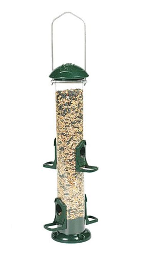stokes bird feeder replacement parts stokes select seed bird feeder with four feeding ports green 1 4 lb capacity home garden