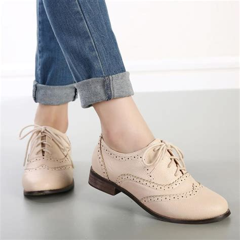 oxford shoes fashion new 2015 vintage style carved lace up oxford shoes