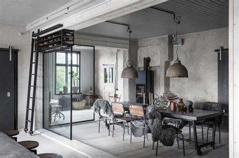 Merveilleux Salle De Bain Style Campagne #5: Tony-et-Asa-Lofling-maison-de-style-industriel_3-584x389.jpg