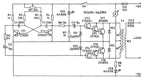 100w inverter schematic inverter circuit and products
