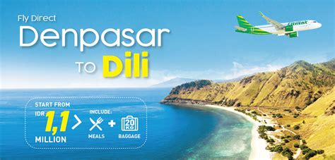 citilink indonesia baggage allowance flight to dili