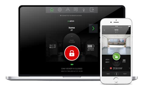 Smartphone Garage Door Opener Smartphone Kit For Garage Door Opener