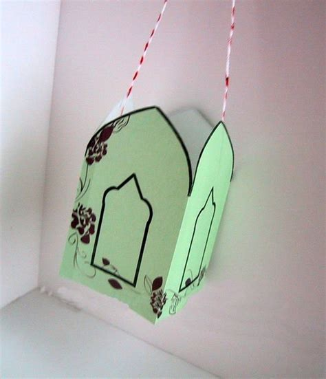 Paper Lantern Craft Ideas - ramadan paper lantern craft islam for