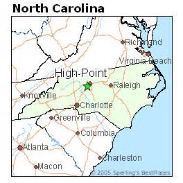 best places to live in high point carolina