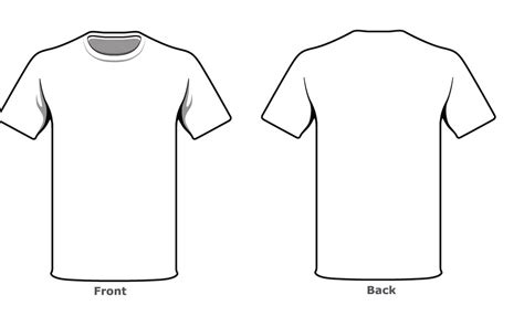Blank Tshirt Template Front Back Side In High Resolution Hd Wallpapers Wallpapers Download T Shirt Front And Back Template