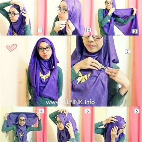tutorial hijab simple daily hijab tutorials on pinterest hijab tutorial hijabs and