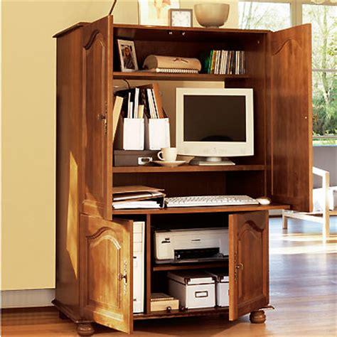 armoire informatique bois bureaux et meubles informatiques