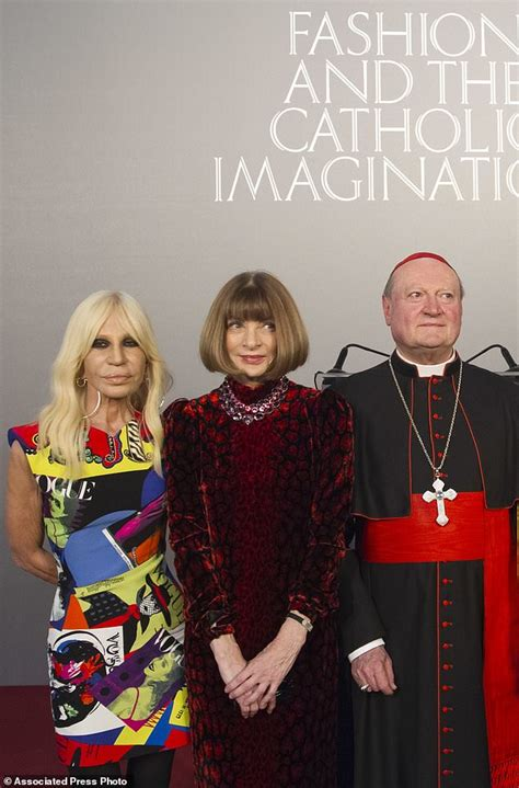 vogue and the metropolitan vatican the met team up to show catholic effect on daily mail online