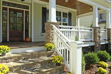 wrap around porch steps to door covered deck and open still looking for the perfect porch but this is close to