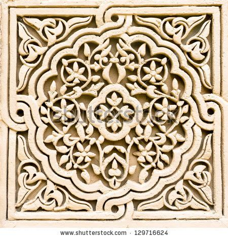 rok remple motif carving stock photos images pictures