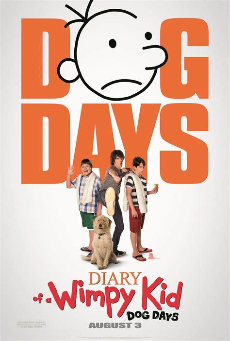 the diary of a watch the first diary of a wimpy kid dog days trailer we are movie geeks
