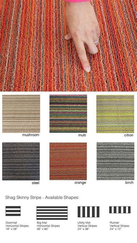 Chilewich Doormat by Chilewich Shag Stripe Indoor Outdoor Doormat