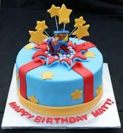 superman kuchen superman bursting out of the birthday cake bakes