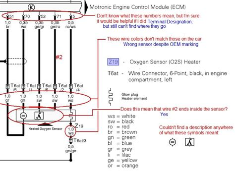5 wire oxygen sensor diagram wiring diagram with description