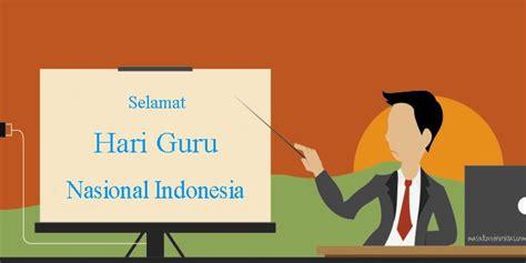 membuat kartu ucapan hari guru ucapan selamat hari guru nasional indonesia 2017