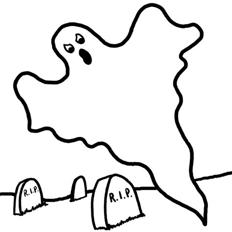 ghost coloring pages ghost coloring pages free kids