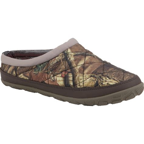 columbia womens slippers columbia packed out omni heat slipper camo s
