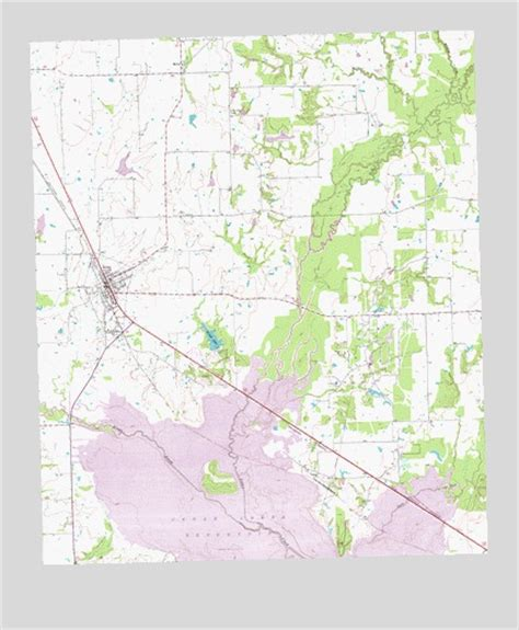 kemp texas map kemp tx topographic map topoquest