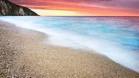 wallpaper 4k beach ocean beach sunset 4k ultra hd desktop wallpaper