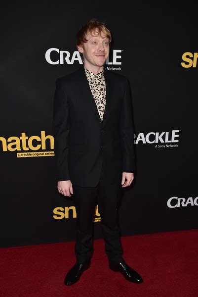 Sergeant Stubby Cracked Rupert Grint Premieres Snatch In Los Angeles Beautifulballad