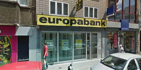 europa bank uccle braquage r 233 ussi 224 l europabank l auteur portait un