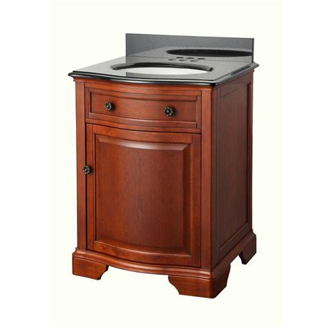 Home Depot Granite Vanity Top by Home Decorators Collection Manchester 25 In Vanity In