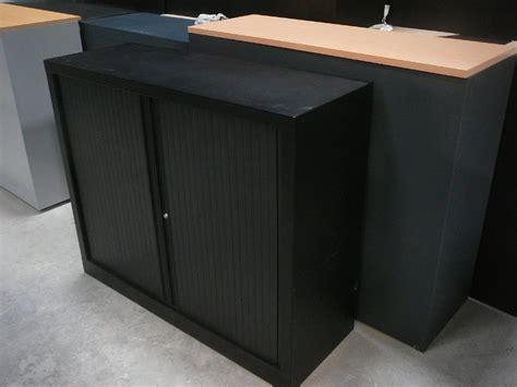 armoire metallique basse armoire m 233 tallique basse vinco noir armoire basse