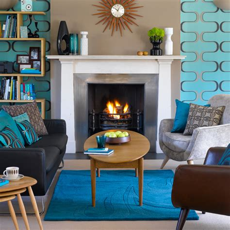modern retro home decor make it pop with turquoise inmod style