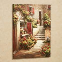 Tuscan Wall Decor by Tuscan Flowers Canvas Wall