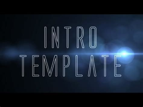 vegas intro templates sony vegas intro template торрент
