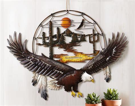 Eagle Decorations by Southwest Soaring Eagle Dreamcatcher Desert Cactus