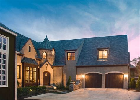 Cottage With Turret by Cottage Style Home With A Turret All Features