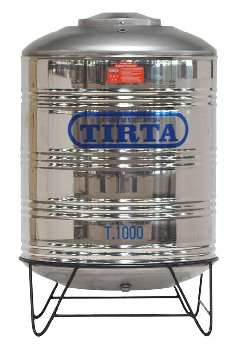Tangki Air Stainless Steel Tirta T 1000 Water Tank Tandon Toren Air jual tangki air stainless stell toren air tirta t 1000 karuniajy