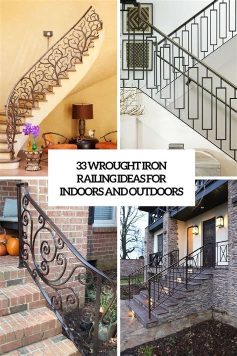 iron ideas 33 wrought iron railing ideas for indoors and outdoors