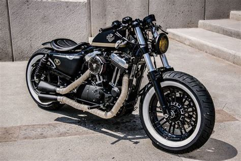 Motorrad Queretaro by Custom Sportster Forty Eight Bobber From Aftercycles In