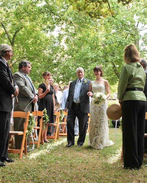 Claren Ring Top wendy and ben s navy and taupe backyard tent wedding in martha stewart weddings