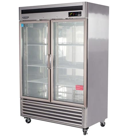 turbo air msr 49g 2 54 quot glass door refrigerator new - New Door Refrigerator