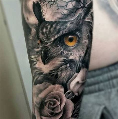 110 cute owl tattoos ideas and designs 2018 page 3 of
