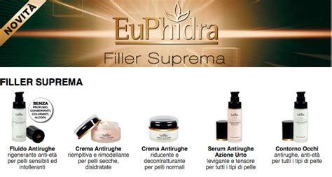 euphidra filler suprema crema antirughe euphidra filler suprema